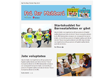 MaryFonden Newsletter